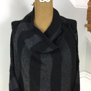 Vince Stripped Cardigan
